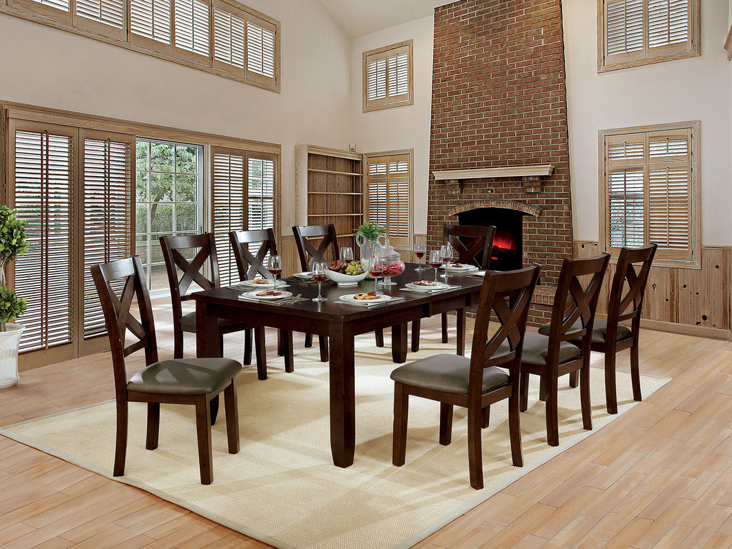 Josie Brown Cherry 9 Pc. Dining Table Set