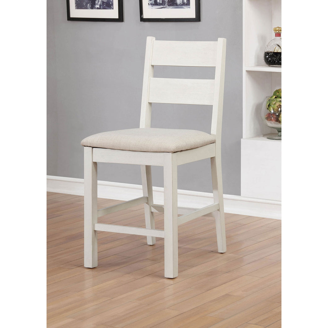 Glenfield Weathered White/White Counter Ht. Chair (2/CTN)
