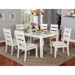 Glenfield Weathered White Dining Table