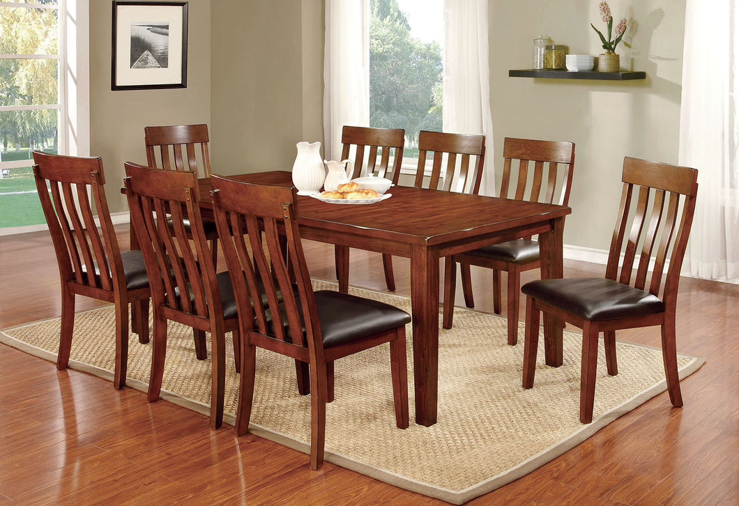 FOXVILLE Cherry 7 Pc. Dining Table Set