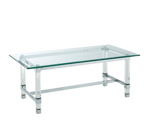 Tuva Chrome Coffee Table