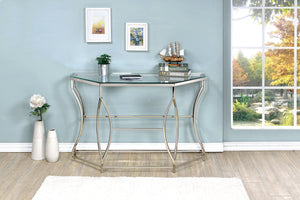 ZOLA Chrome Sofa Table