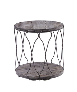 Hawdon Gray End Table