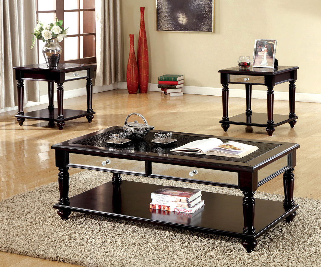 HORACE Espresso 3 Pc. Table Set