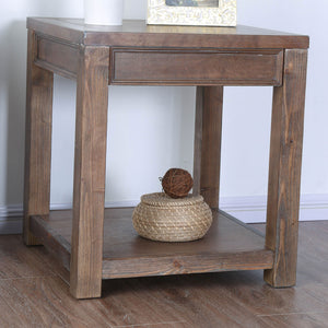Meadow Oak End Table