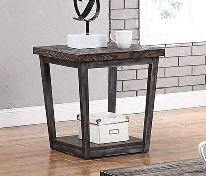 Sixten Dark Oak/Gray End Table