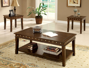 Fenwick Walnut 3 Pc. Coffee Table Set