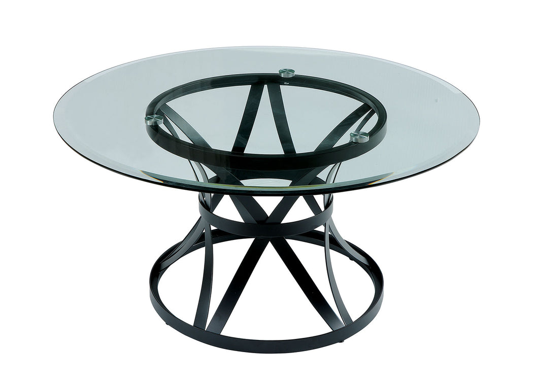 Oviola Black Coffee Table