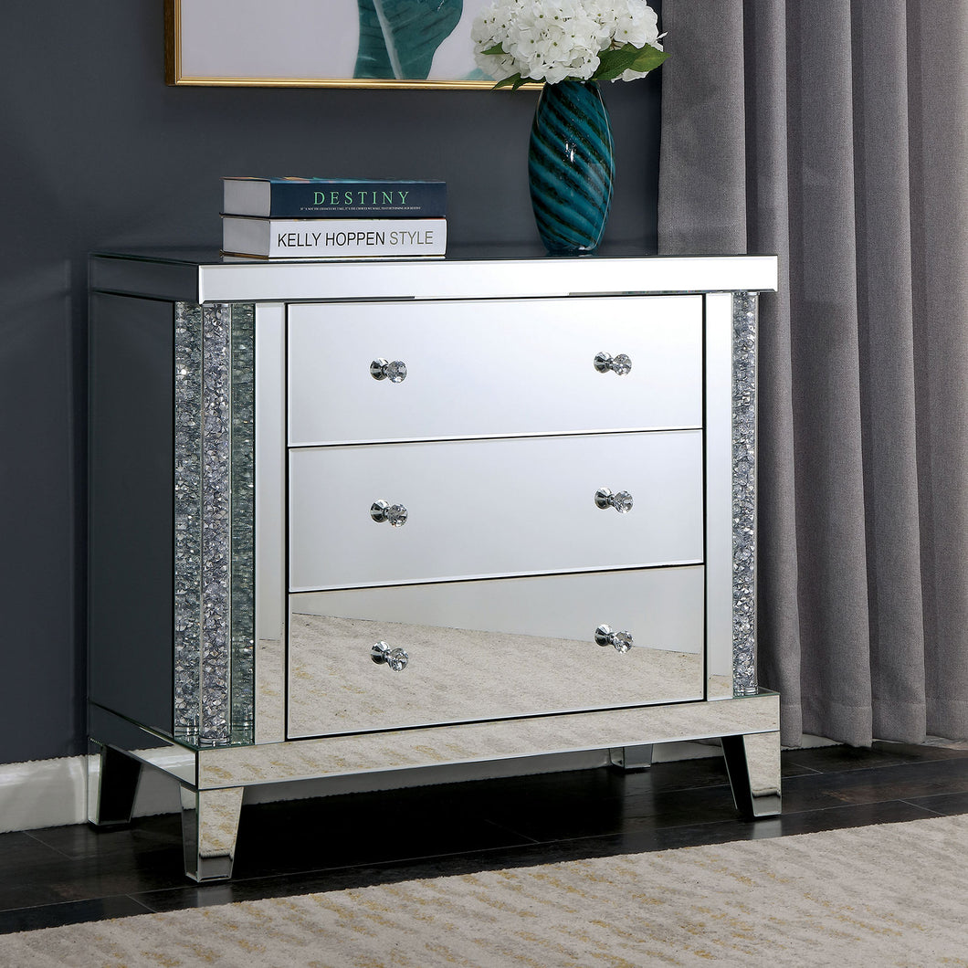 Chiara Silver Side Table