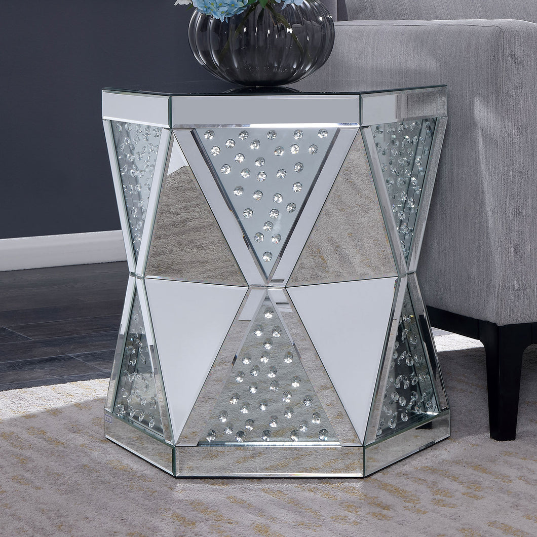 Lesedi Silver End Table