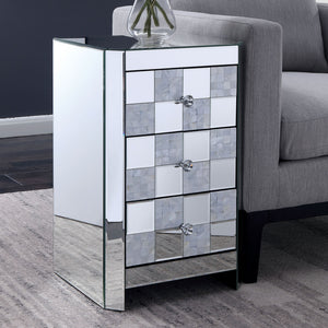 Lesedi Silver Side Table