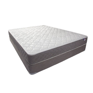 "KALEI White/Gray 8"" Tight Top Mattress, E.King"