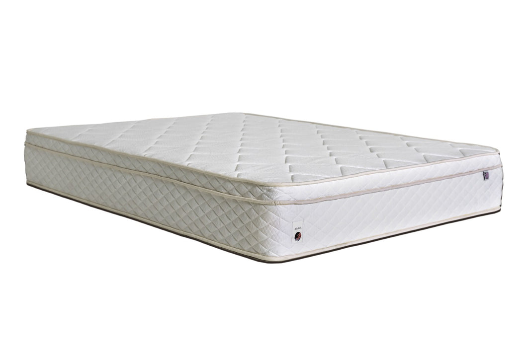 Bougainvilles White Queen Mattress