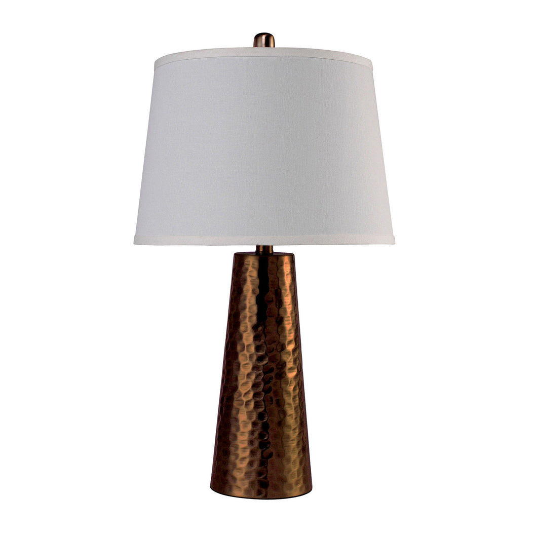 Luz Antique Gold Table Lamp