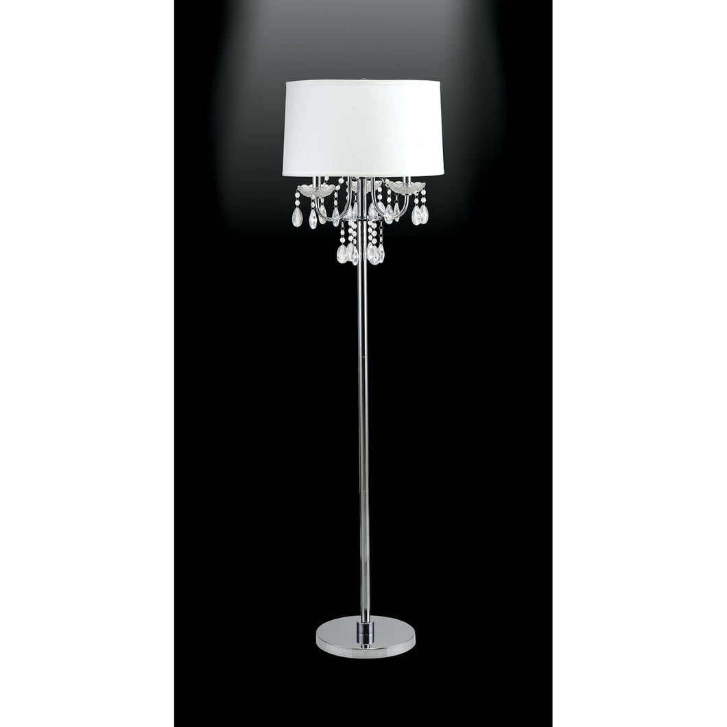 Jada White Floor Lamp