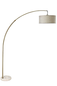 Jess Antique Gold Arch Lamp
