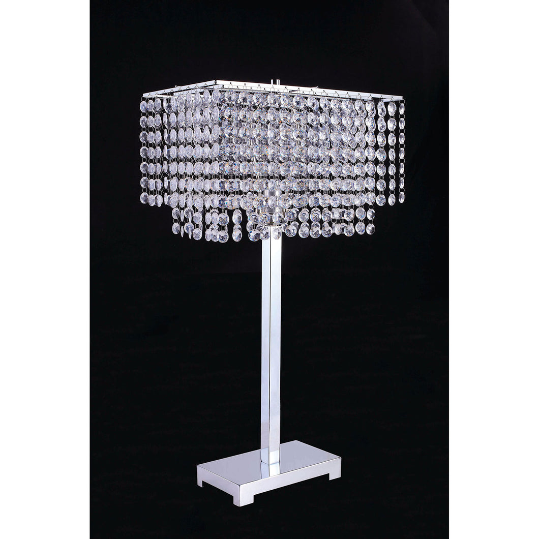 Rena Chrome Table Lamp