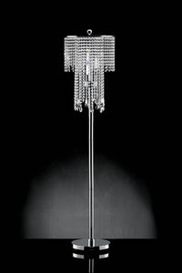 "Alrai Clear 63""H Floor Lamp"