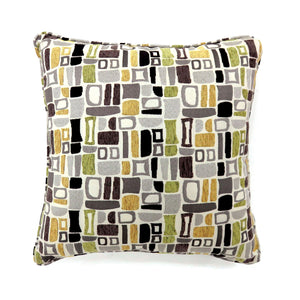 "Bloc Multi 18"" X 18"" Pillow, Multi (2/CTN)"