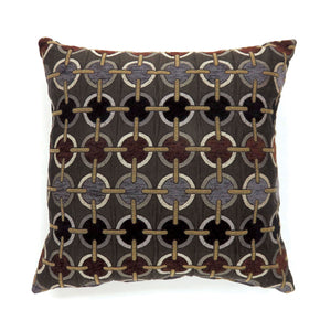 "Targe Brown 22"" X 22"" Pillow, Brown (2/CTN)"