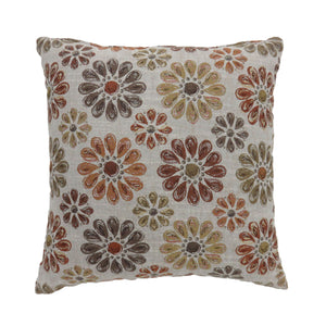 "Kyra Orange 22"" X 22"" Pillow (2/CTN)"