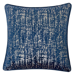 "Belle Blue 20"" X 20"" Pillow, Blue"