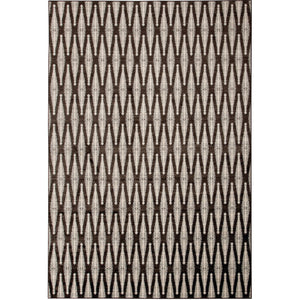 "Mortsel Brown/Gray 5'3"" X 7'6"" Area Rug"