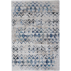 "Gresford Blue/Gray 5'3"" X 7'6"" Area Rug"