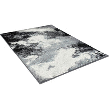 Load image into Gallery viewer, Serang Gray/Black 5' X 7' Area Rug