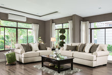 Load image into Gallery viewer, GILDA Beige Sofa + Love Seat