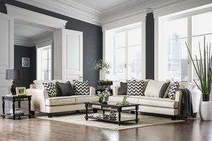 PERCEY Off-White Sofa + Love Seat
