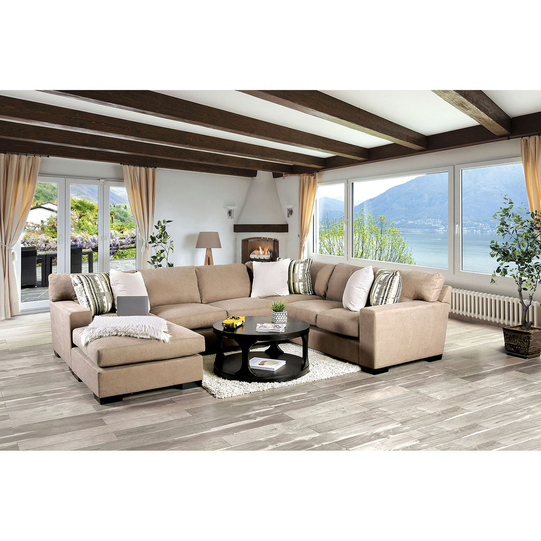 Ferndale Brown Sectional