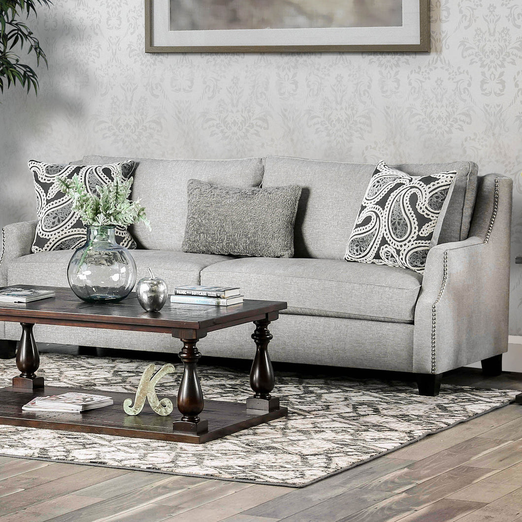 Madalyn Light Gray Sofa