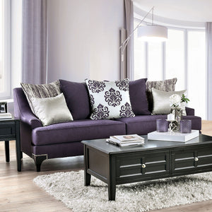 Sisseton Purple Sofa