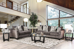 Jena Gray Sofa + Love Seat