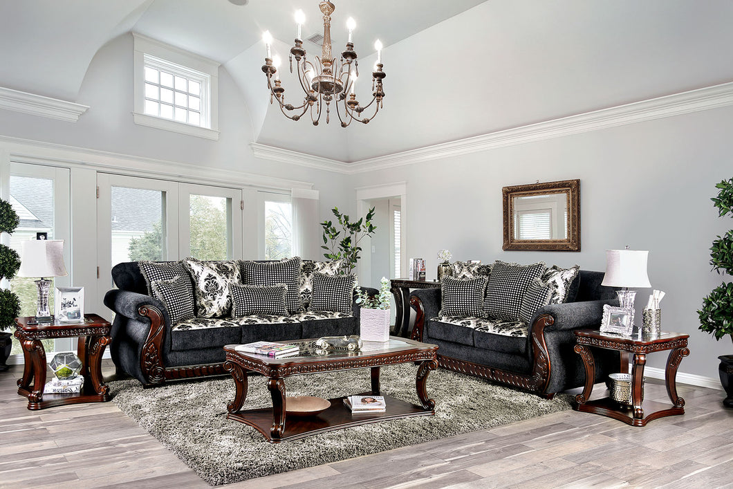 Whitland Gray Sofa + Love Seat