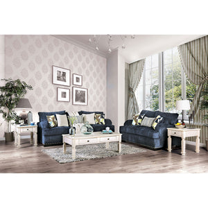 Jayda Navy Sofa + Love Seat