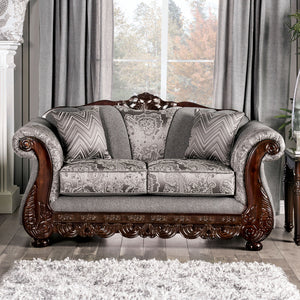 Newdale Gray Love Seat