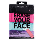 ERASE YOUR FACE CLOTHS, 4 PACK