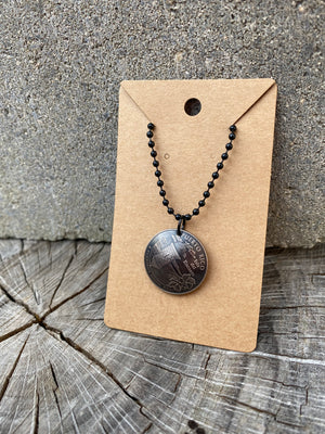 Domed State Necklace (Blackout Edition)
