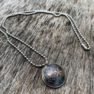 Domed State Necklace