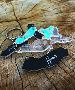 """Home"" State Keychain"