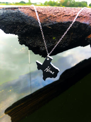 """Home"" State Necklace"