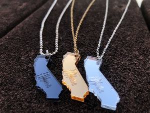 "Mirrored ""Home"" State Necklace (Limited Edition)"