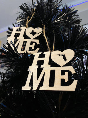 """BUY ONE GET 1 FREE"" HOME State Ornament"