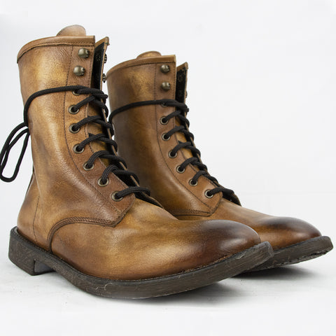 Handcrafted Boots in Real Leather Made in Italy