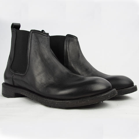 Boots in Real Leather easy to clean