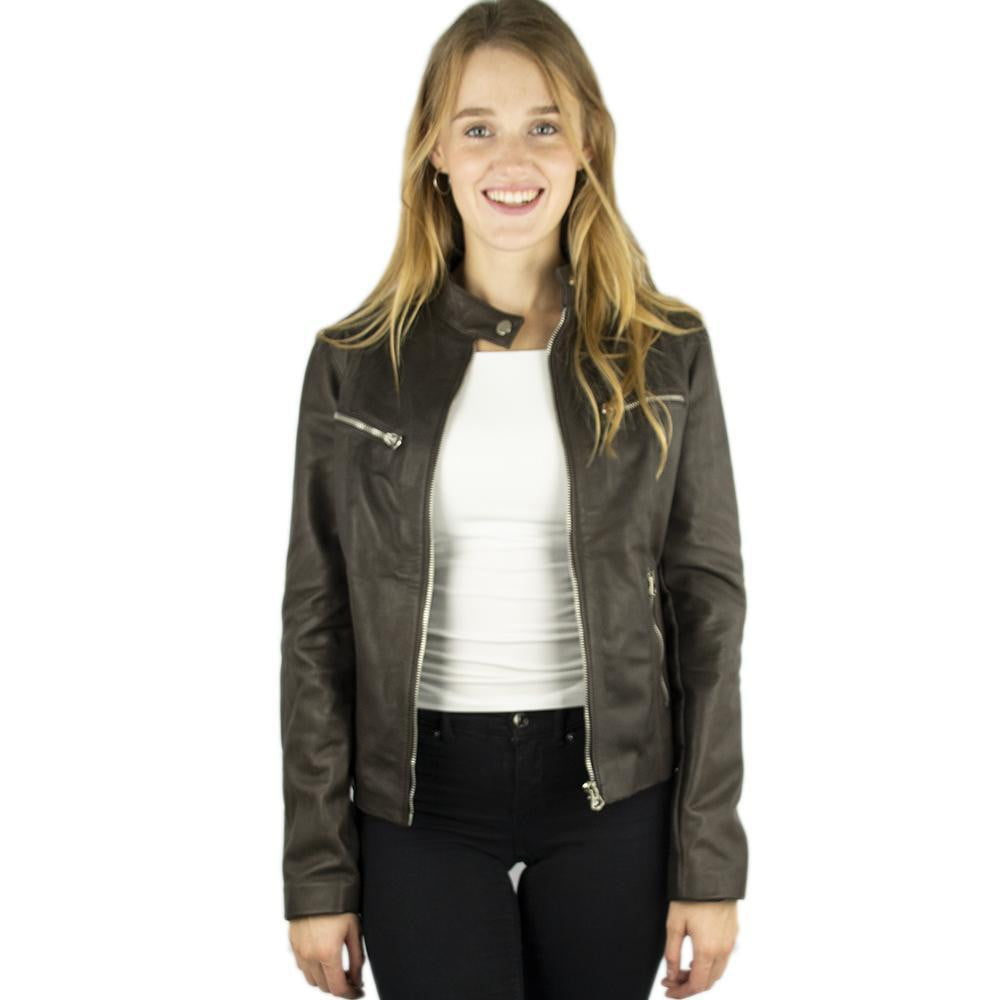 Jacket in Real Leather (Simple in Brown or Black)