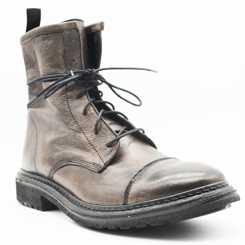 TR1005 Low Boot in washed grey - WAYART