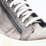 Load image into Gallery viewer, RAF80171 Grey washed sneaker+ double zip - WAYART